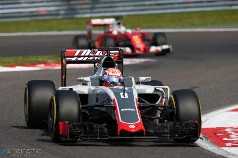Romain Grosjean, Haas, Spa-Francorchamps, 2016
