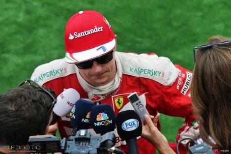 Kimi Raikkonen, Ferrari, Spa-Francorchamps, 2016