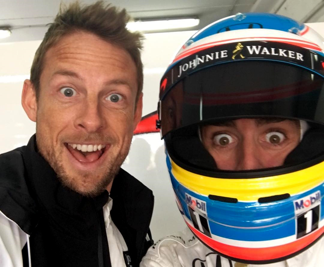 Jenson Button, Fernando Alonso, 2016