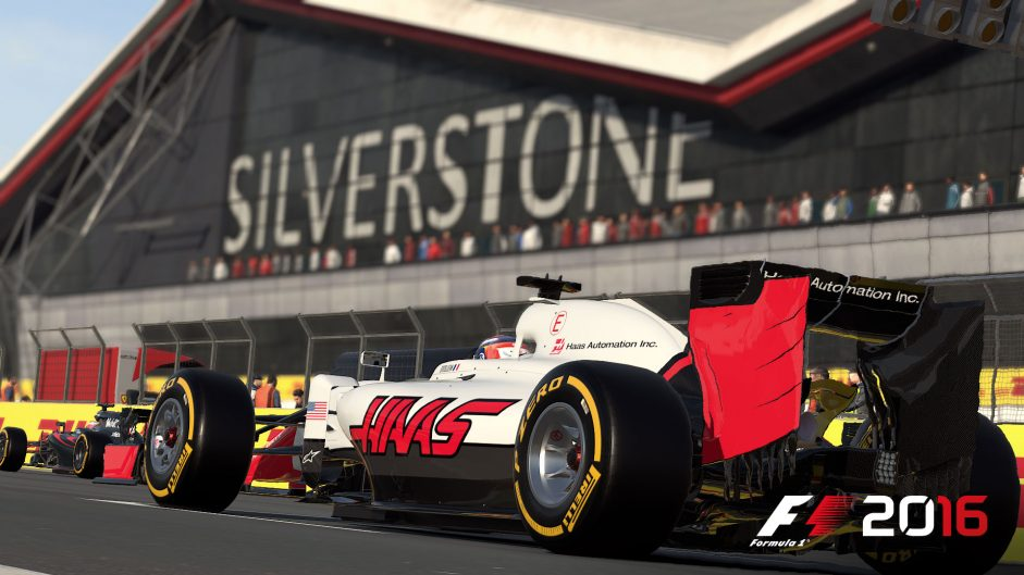 Be the first to win Codemasters' F1 2016