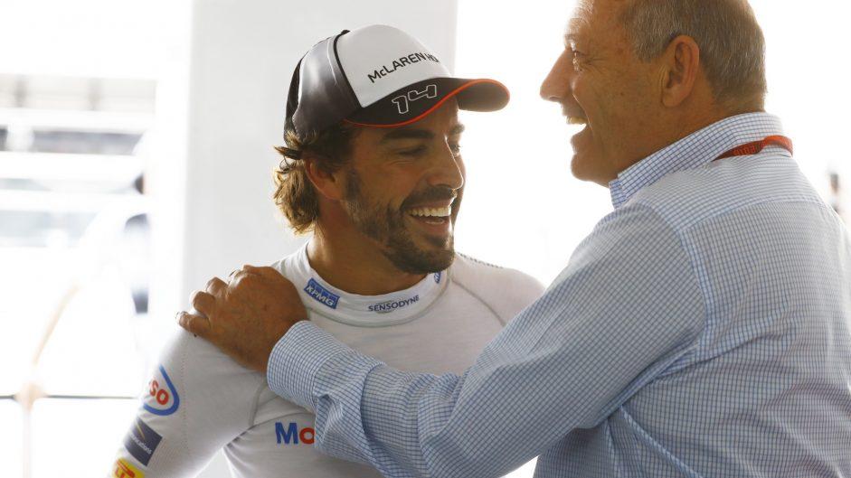 Fernando Alonso, Ron Dennis, McLaren, Hockenheimring, 2016