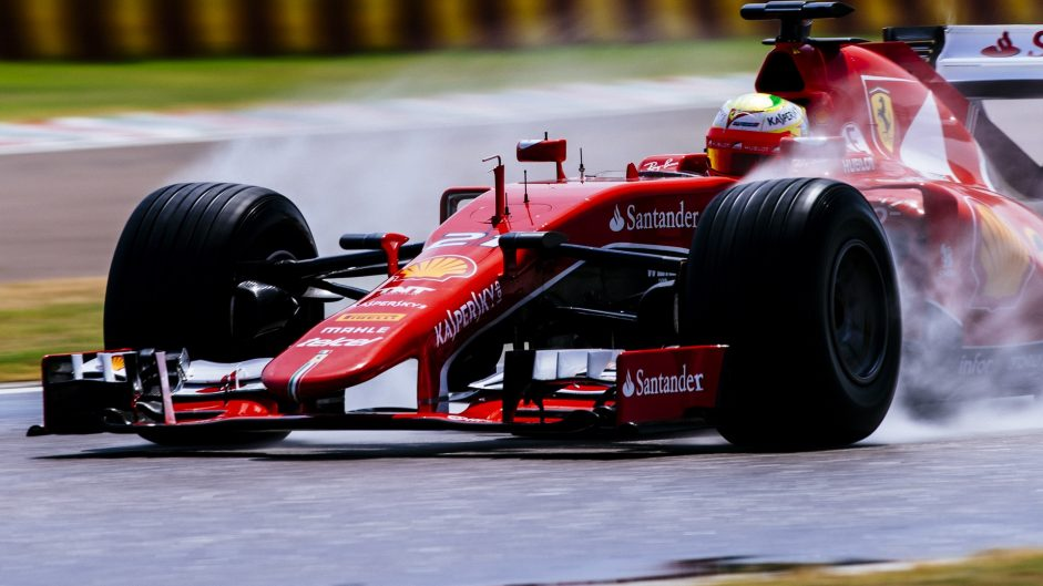 Gutierrez takes over Pirelli test duties from Vettel