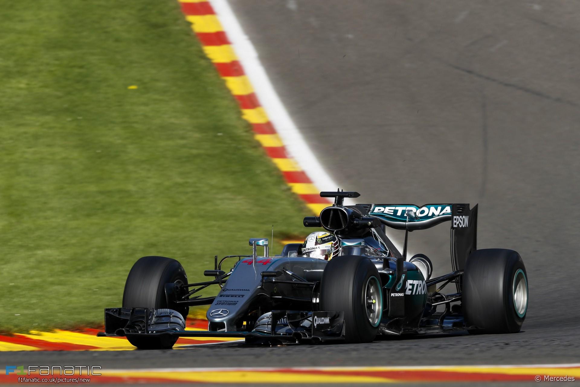 Lewis Hamilton, Mercedes, Spa-Francorchamps, 2016