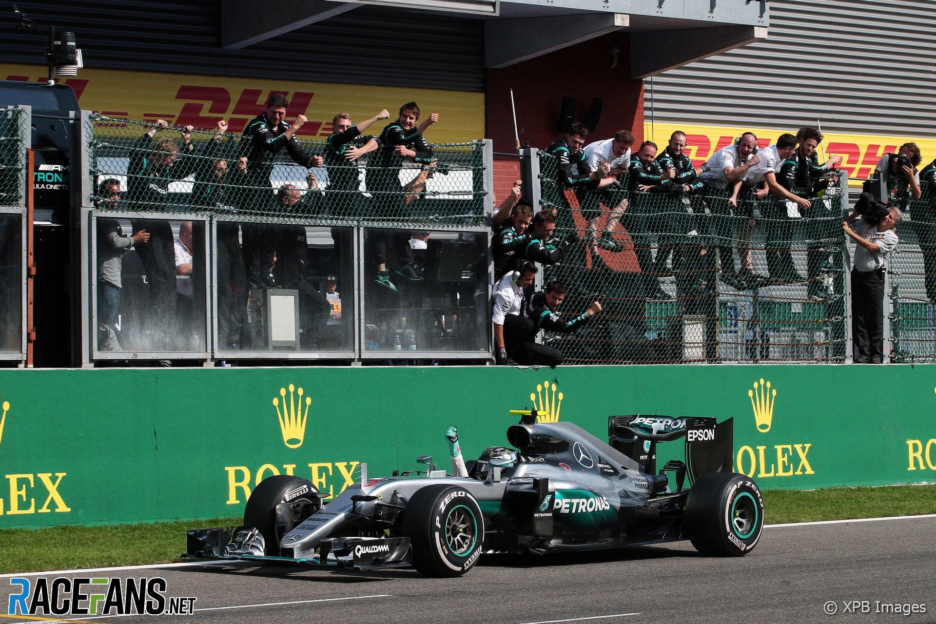 Nico Rosberg, Mercedes, Spa-Francorchamps, 2016