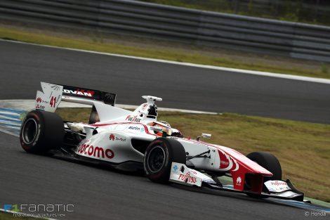Stoffel Vandoorne, Super Formula, Motegi, 2016