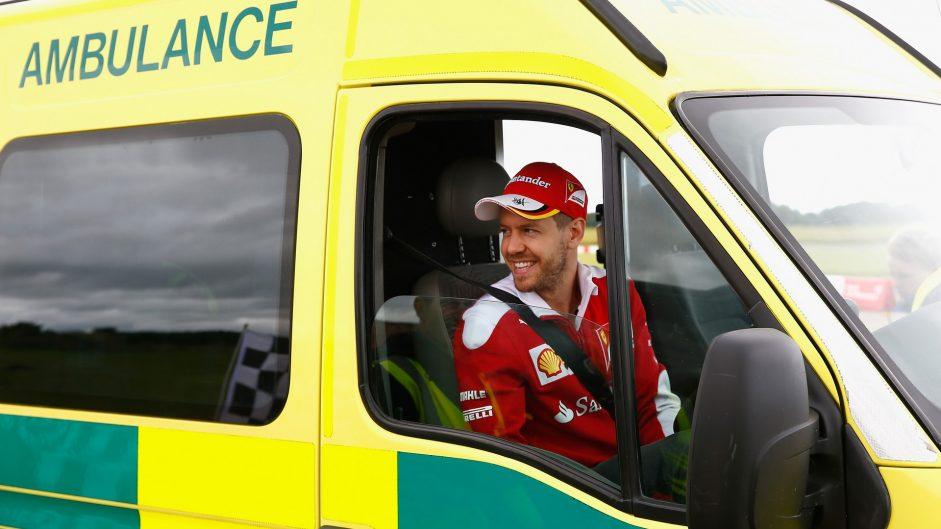 Caption Competition 107: Vettel's ambulance