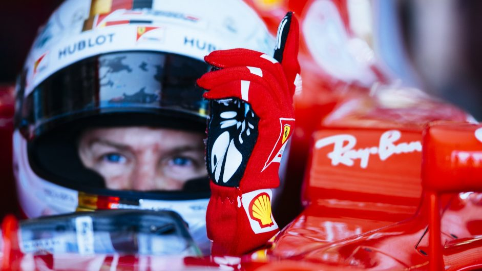 Ferrari tell Vettel to calm down