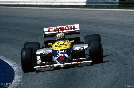 Nigel Mansell, Williams, Osterreichring, 1986