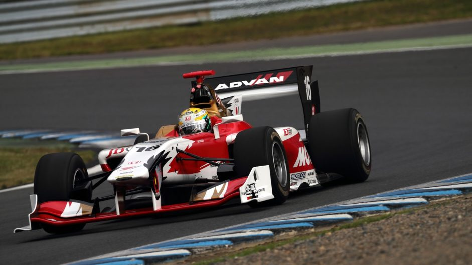 Three points covers Super Formula top five