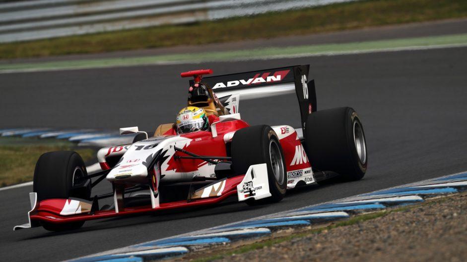 Three points covers Super Formula top five