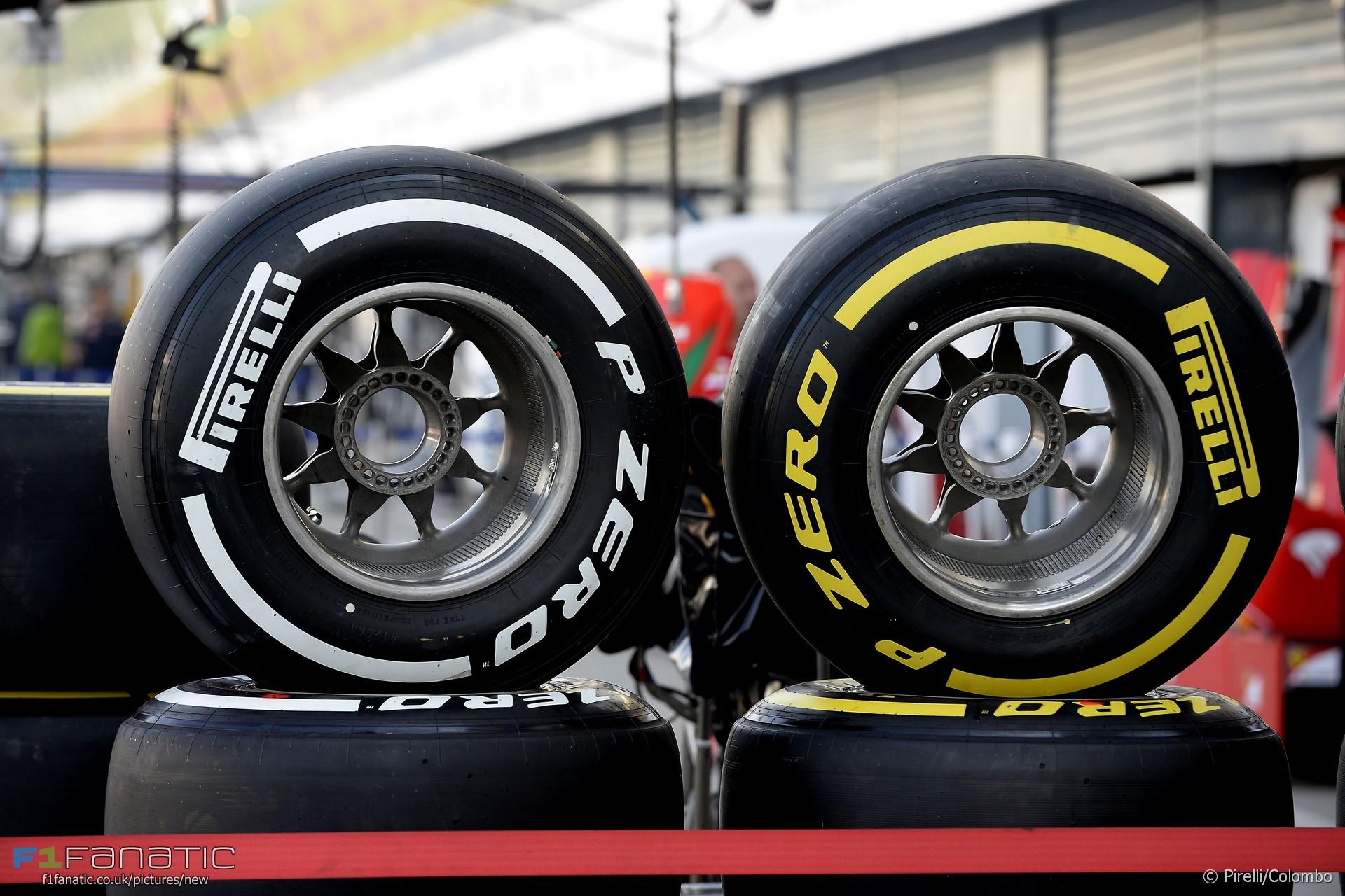 Tyres, Monza, 2016