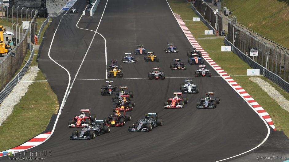 2017 Malaysian Grand Prix TV Times