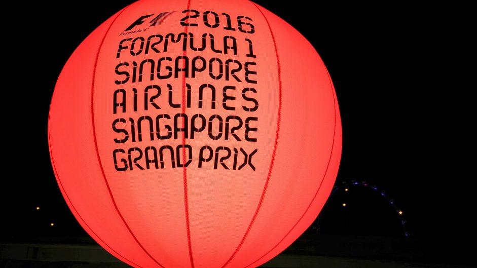 2016 Singapore Grand Prix TV Times