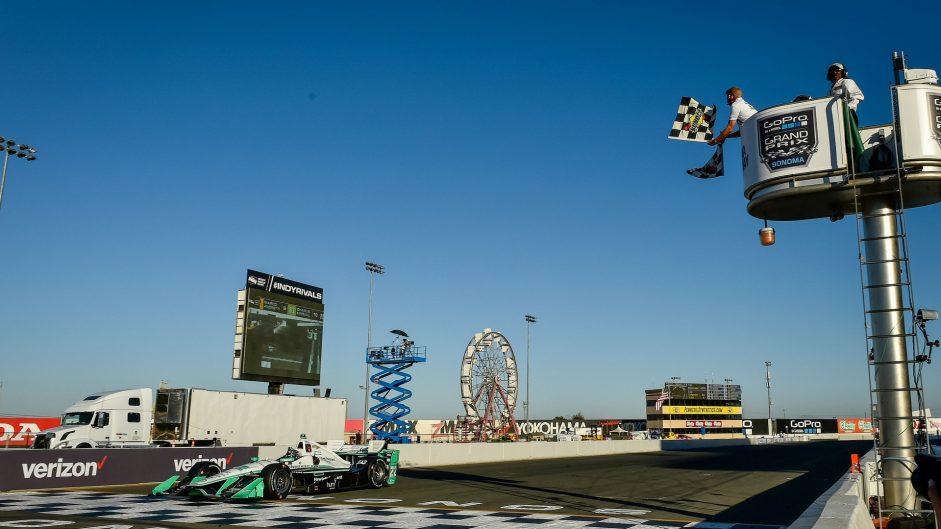 Simon Pagenaud, Penske, IndyCar, Sonoma, 2016