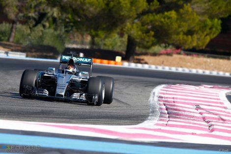 Paul Ricard was added to the 2018 F1 calendar