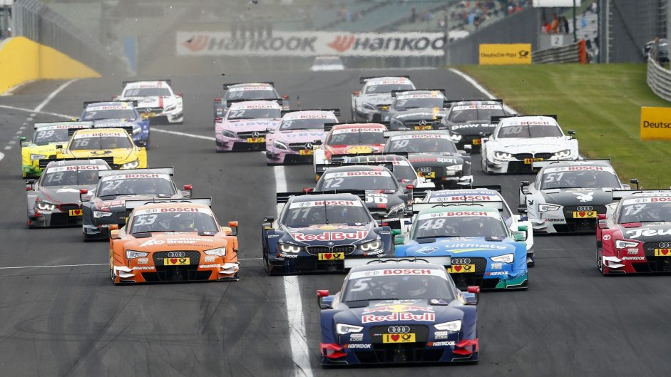 Disqualifications hit DTM title fight