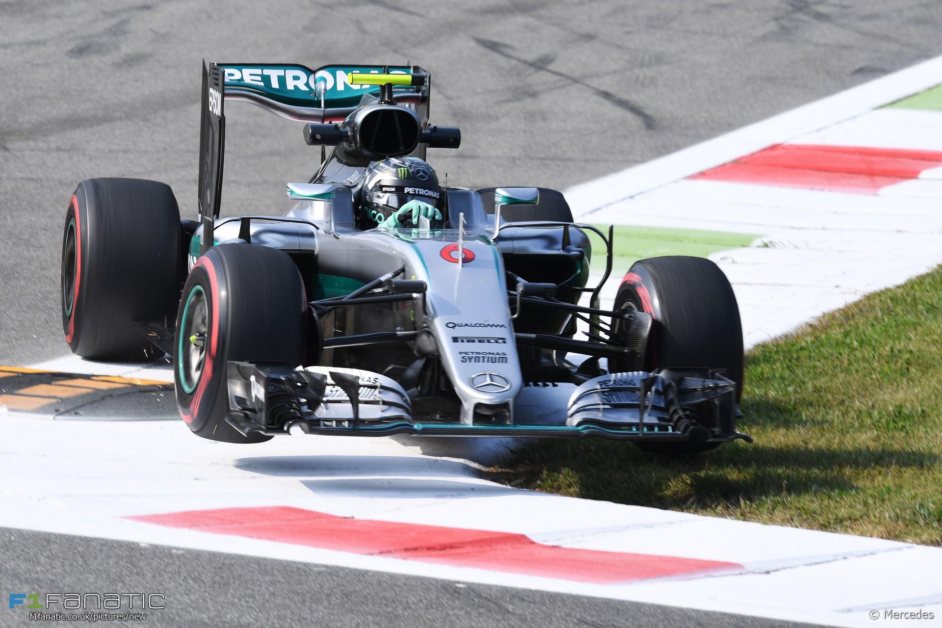 Nico Rosberg, Mercedes, Monza, 2016
