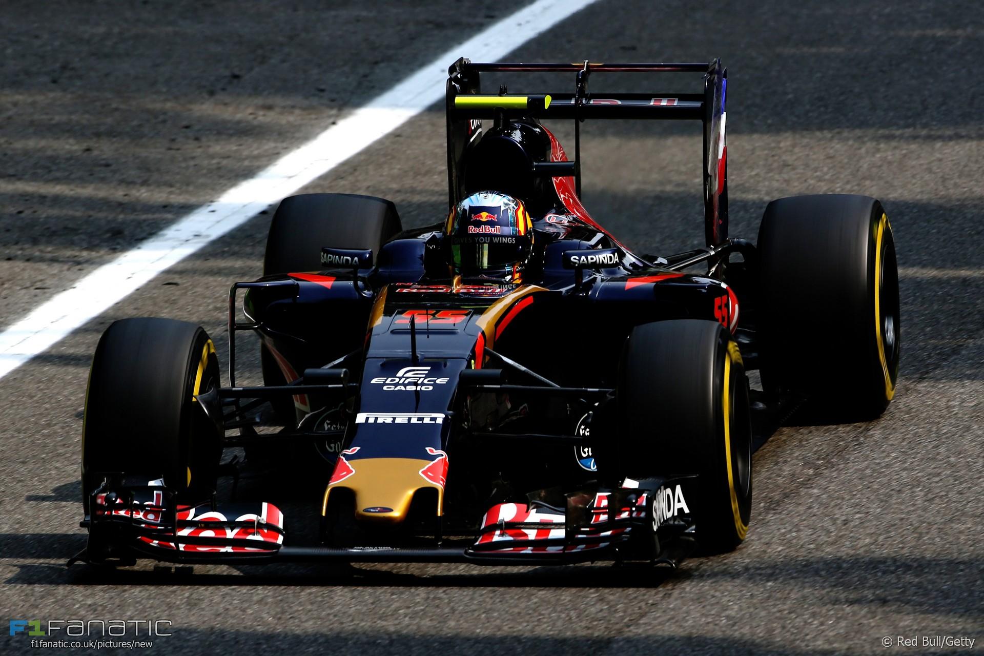 Carlos Sainz Jnr, Toro Rosso, Monza, 2016