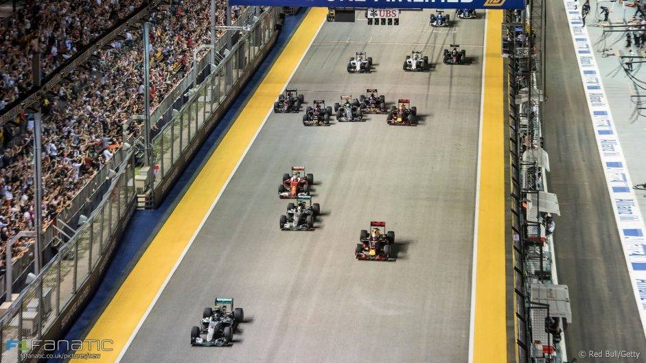 Singapore Grand Prix gets second-highest rating