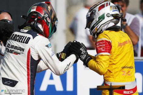 Antonio Giovinazzi, Raffaele Marciello, GP2, Monza, 2016