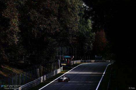 Romain Grosjean, Haas, Monza, 2016