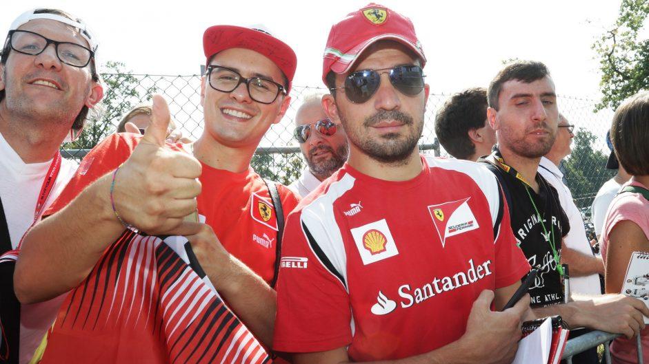 Ferrari fans, Monza, 2016