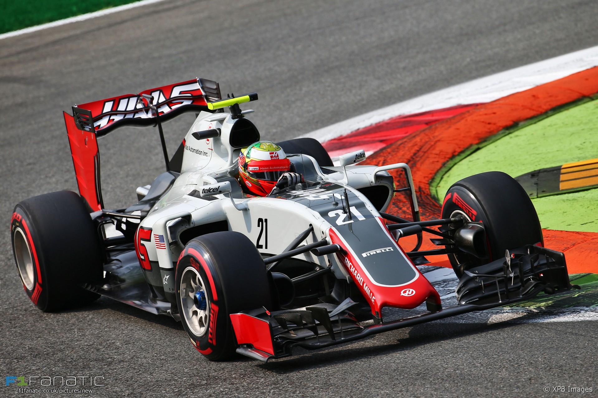 Esteban Gutierrez, Haas, Monza, 2016