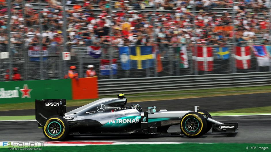 2016 Italian Grand Prix tyre strategies and pit stops