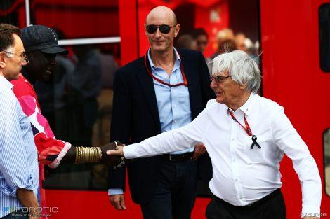 Bernie Ecclestone, Donald Mackenzie, Monza, 2016