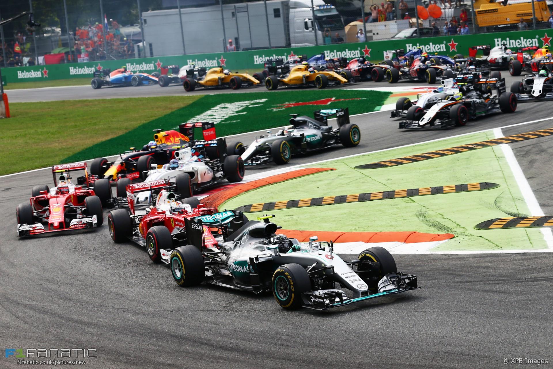 Start, Monza, 2016