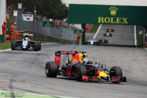 Daniel Ricciardo, Red Bull, Monza, 2016