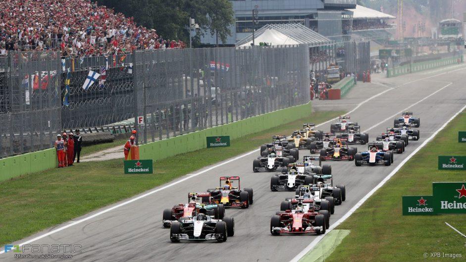 2017 Italian Grand Prix TV Times