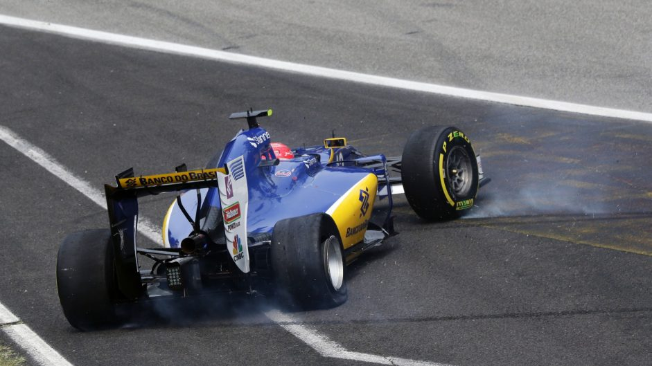 Felipe Nasr, Sauber, Monza, 2016