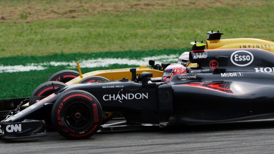 Jenson Button, McLaren, Monza, 2016