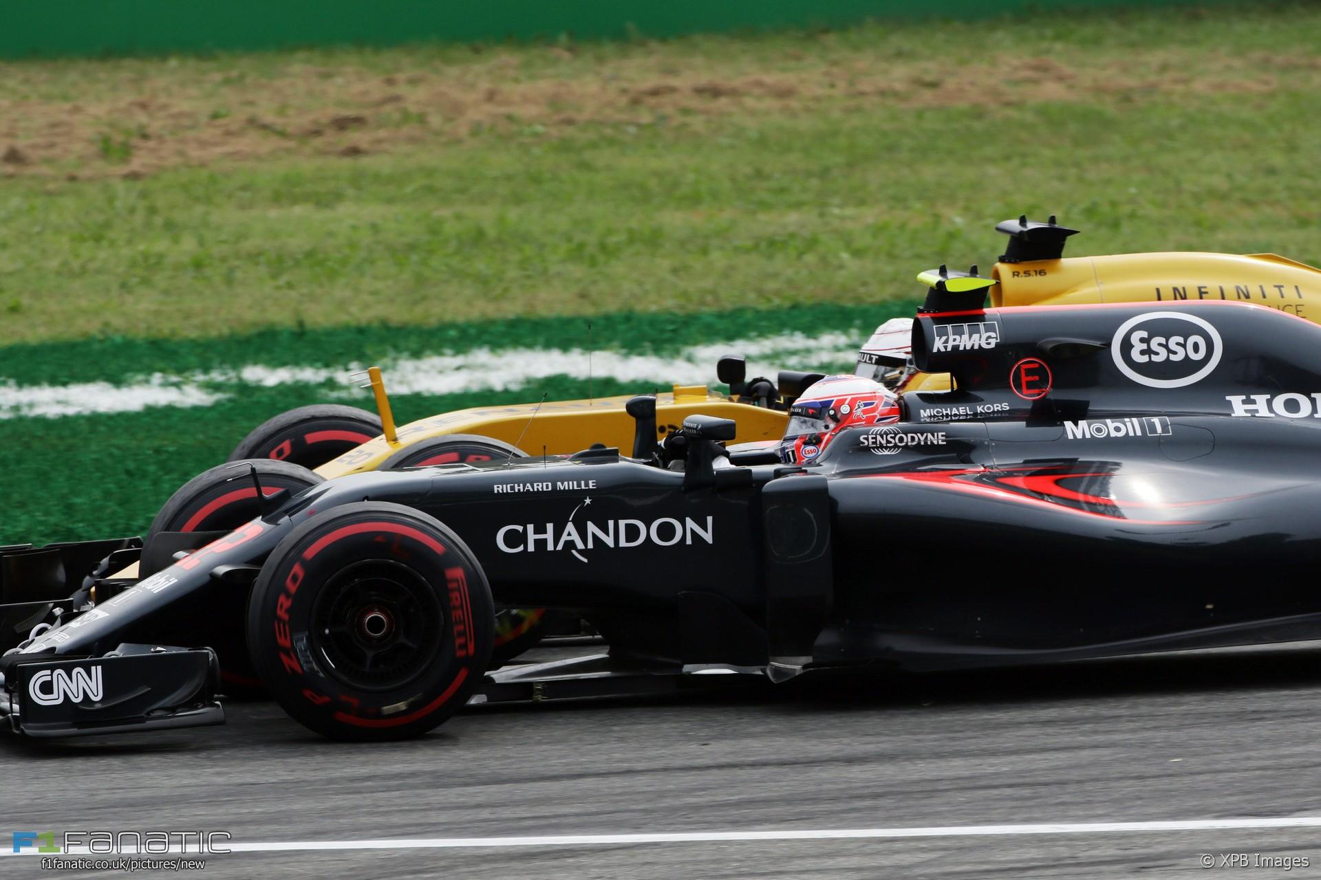 Jenson Button Mclaren Monza 2016 F1 Fanatic