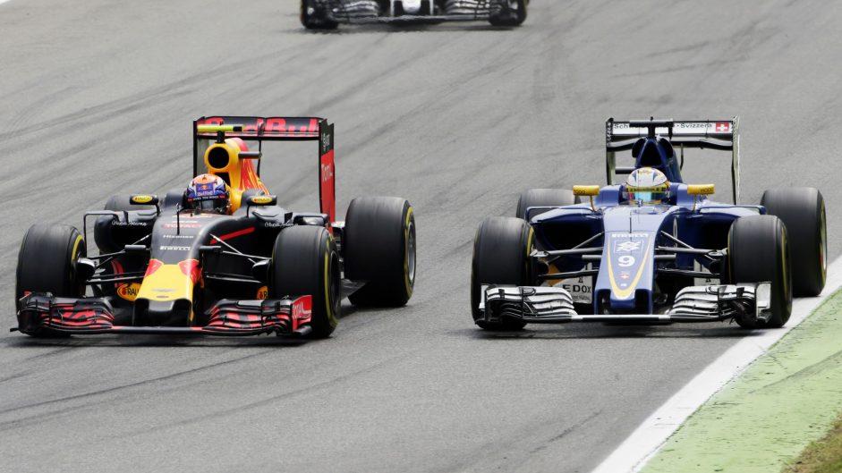 Max Verstappen, Red Bull, Monza, 2016