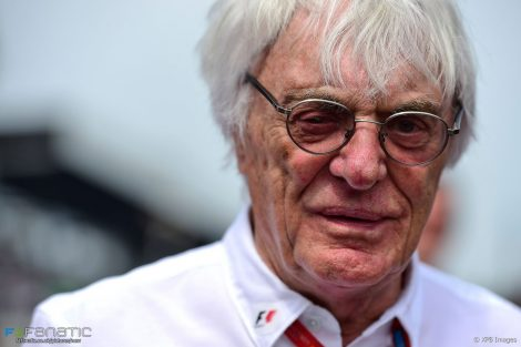Bernie Ecclestone, Monza, 2016