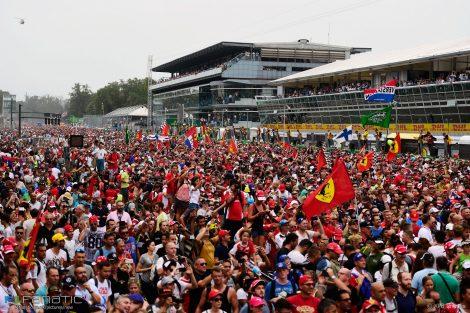 Fans, Monza, 2016