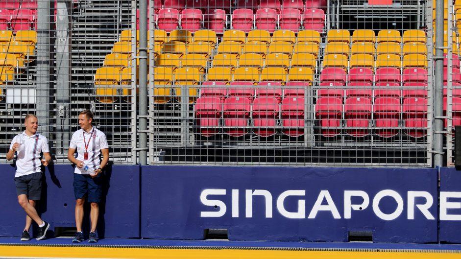 Valtteri Bottas, Williams, Singapore, 2016