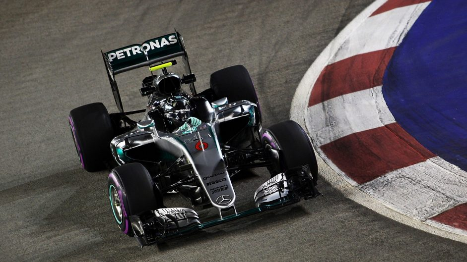 2016 Singapore Grand Prix grid