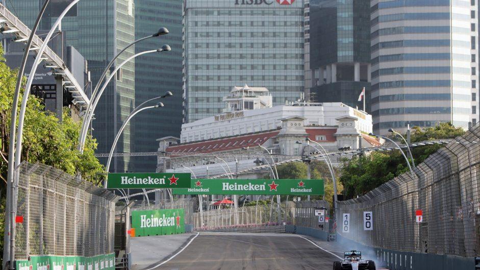 Lewis Hamilton, Mercedes, Singapore, 2016