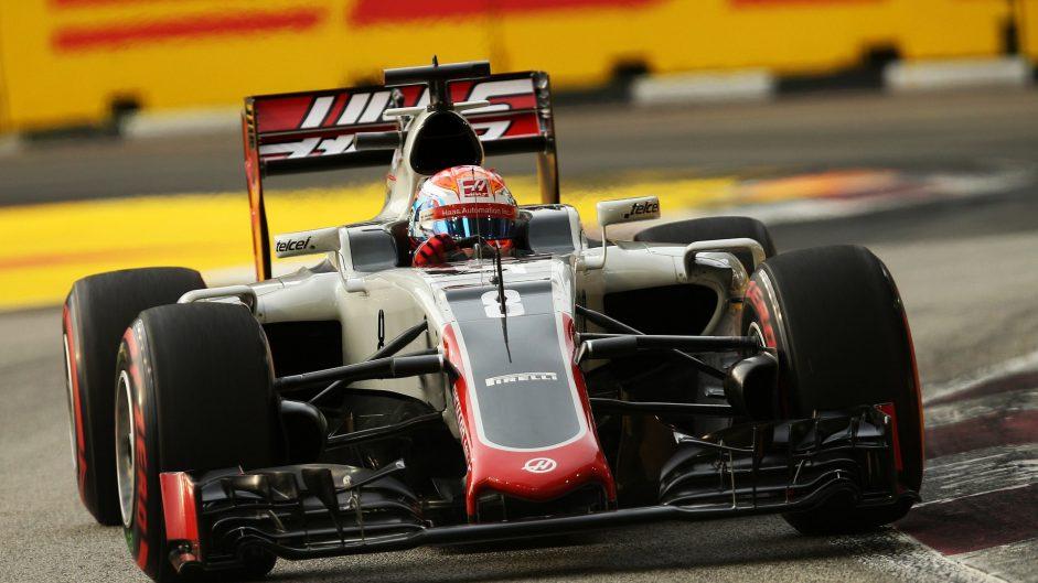 "Grosjean baffled by ""weird weekend"" after crashes"