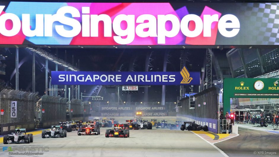 Vote for your 2016 Singapore Grand Prix Driver of the Weekend