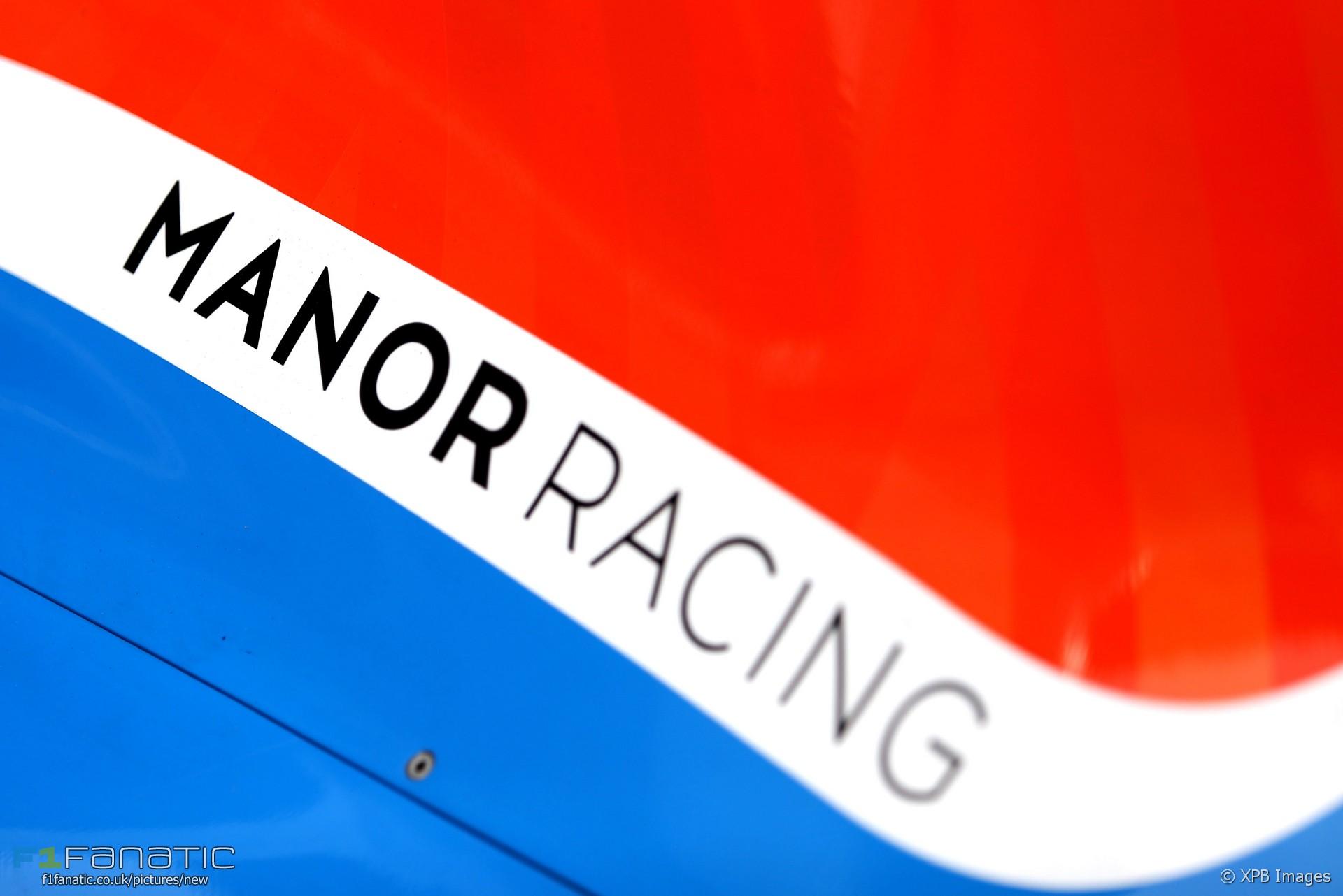Manor, Sepang International Circuit, 2016