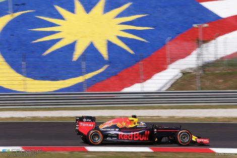 Daniel Ricciardo, Red Bull, Sepang International Circuit, 2016