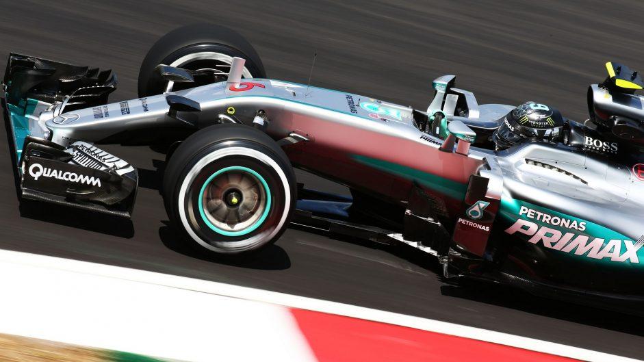 New final corner better for overtaking – Rosberg