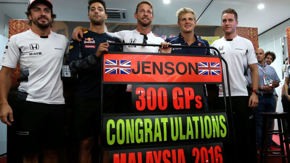 Fernando Alonso, Daniel Ricciardo, Jenson Button, Marcus Ericsson, Stoffel Vandoorne, Sepang International Circuit, 2016