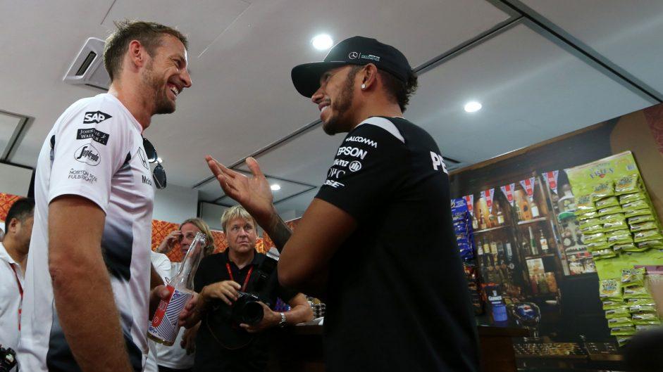 Lewis Hamilton, Jenson Button, Sepang International Circuit, 2016