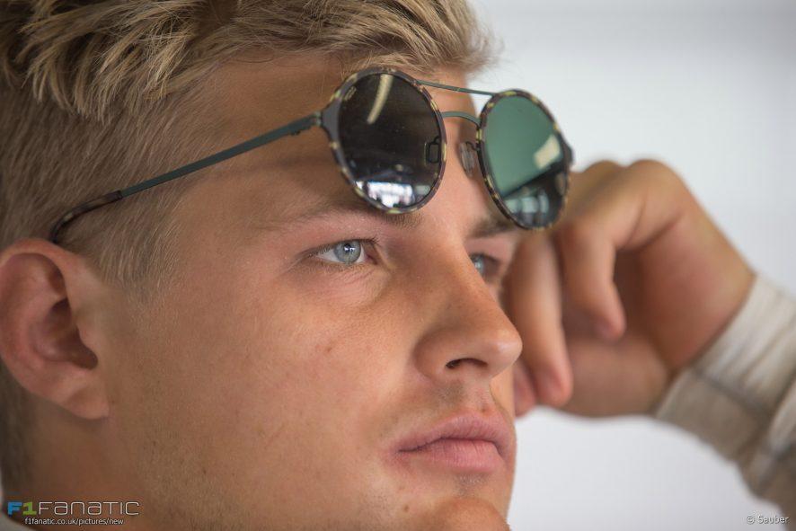 Marcus Ericsson, Sauber, Monza, 2016
