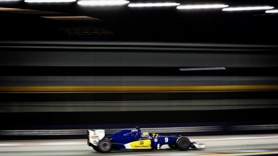 Marcus Ericsson, Sauber, Singapore, 2016